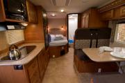 Ambassador RV MH 23 ft Slide Class C rv rental canada