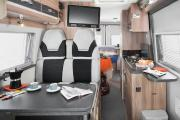Amber Leisure Motorhomes UK 2 Berth - Select motorhome rental united kingdom
