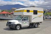 2 Berth Motorhome without shower and toilet campervan hire australia