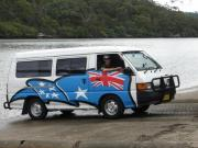 Awesome Campers 2 Person Classic campervan hire australia