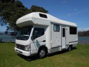 4 berth motorhomes campervan hire - new zealand