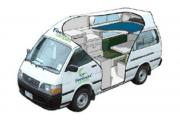 Hi Top 2/3 Berth Path Finder campervan rental new zealand