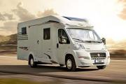 Autocaravan Express, S.A Hymer/Carado T-134 motorhome hire italy