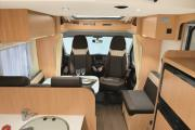 Family Standard Sunlight T67 or similar motorhome rental - italy