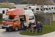 Britz Campervan Rentals NZ (Domestic) 4 Berth Voyager campervan rental new zealand