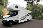SA Roadtrippers Standard 6 Berth motorhome rental south africa