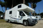 Large Motorhome - Elnagh baron 46 camper hire italy
