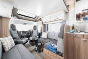 Pure Motorhomes UK 4 Berth - Escape G motorhome rental uk