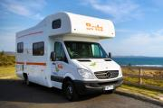 Britz Campervan Rentals 6 Berth Vista campervan hire alice springs