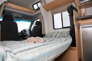 Kiwi Campers NZ Deluxe 6 Berth Mercedes Benz campervan hire christchurch