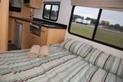 Kiwi Campers NZ Deluxe 6 Berth Mercedes Benz motorhome rental new zealand
