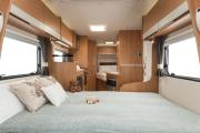 Pure Motorhomes UK 4 Berth Escape motorhome rental united kingdom