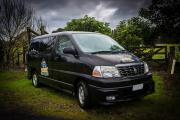 Happy Black Sheep Sleeper new zealand airport campervan hire