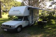 5 Seater Automatic Compact Motorhome campervan hire australia
