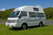 Koru 2+1 new zealand airport campervan hire