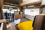 Britz Campervan Summer Fleet AU Traveller 6 Berth campervan hire hobart