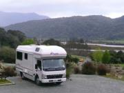 Pacific Horizon Travel Homes 4 Berth Premium  Campervan new zealand airport campervan hire