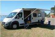 Fiat Cruiser campervan hireadelaide