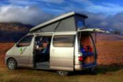 4 Berth - Elevating Roof motorhome rental - uk