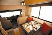 Apollo Motorhomes AU Domestic Euro Camper 4 Berth campervan hire hobart