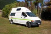 Sleepavanz 2 Berth Hiace new zealand airport campervan hire