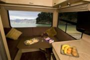 Tui Campers NZ Trail Explorer Deluxe 6 Berth campervan hire wellington