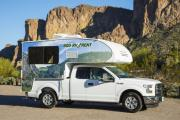 Cruise America (International) T17 - Truck Camper cheap motorhome rental las vegas