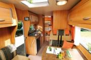 Compass Campers UK Medium Motorhomes - Chausson Flash 03 motorhome rental united kingdom