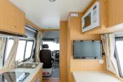Apollo Motorhomes AU Euro Tourer 2 Berth campervan hire alice springs