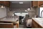 Compass Campers USA (International) EC25 Class C Motorhome rv rental texas