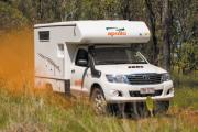 Apollo Motorhomes AU Adventure Camper campervan hire alice springs