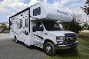 Class C 25' With Slide Out motorhome rentalcanada