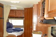 Road Bear RV 23-27 ft Class C Non-Slide Motorhome camper rental colorado