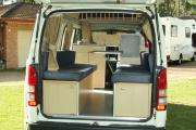 The Adventurer - 3 Berth Deluxe Campervan campervan hire - australia