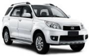 Daihatsu Terios or Similar car hirenew zealand