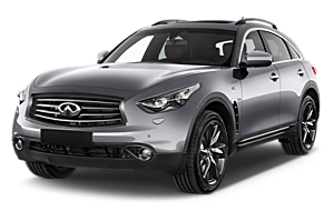 Infiniti QX70 Or Similar australia car hire