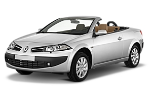 Renault Megane Convertible or similar car hire australia