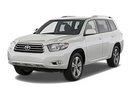 Group F - Toyota Highlander or Similar car hirenew zealand