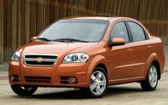 Aveo 4DR or similar