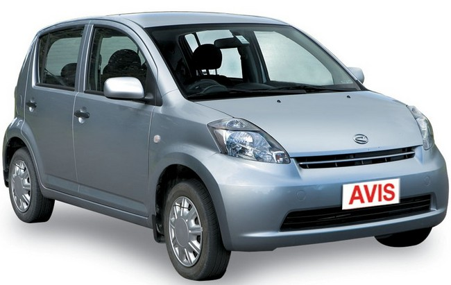 Group A - Dihatsu Sirion or similar