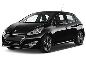 Peugeot 208 with GPS or similar