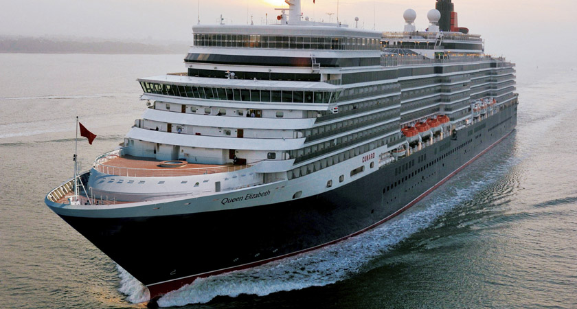 The Queen Elizabeth will be making the iconic journey in 2019