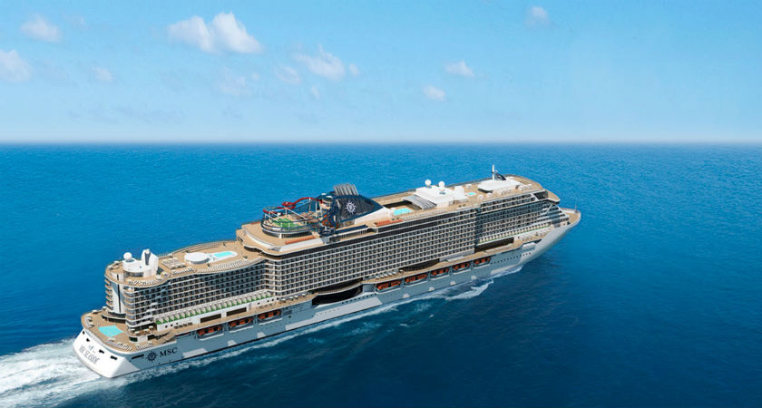 Revolutionary New Ship Delivered for MSC
