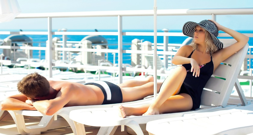 Relax completely: The top 5 places to do absolutely nothing onboard.