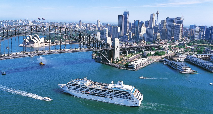 The Emerald Princess soon to arrive in Australia