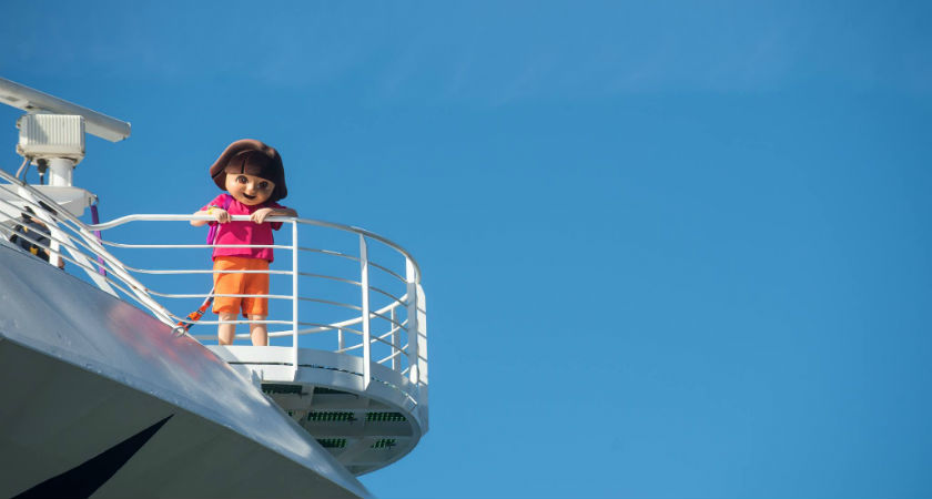 P&O's Pacific Explorer Sets Sail With Dora the Explorer