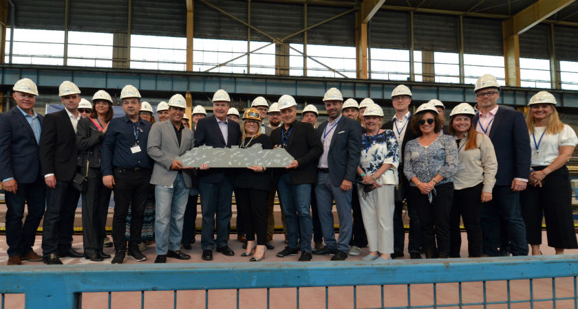 Celebrity Cruises Cuts Steel on New Edge-Class Ship