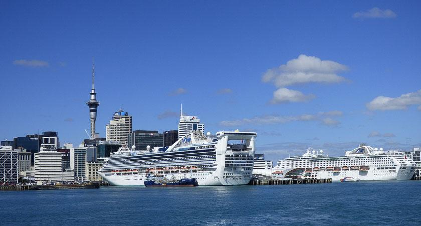 Five Cruise Ships Sailing From Auckland in 2019