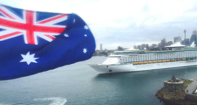 Royal Caribbean celebrating Australia Day in grand Aussie style