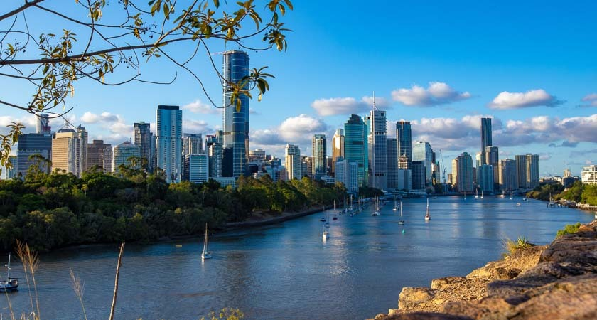 Explore Queensland from bright, busy Brisbane